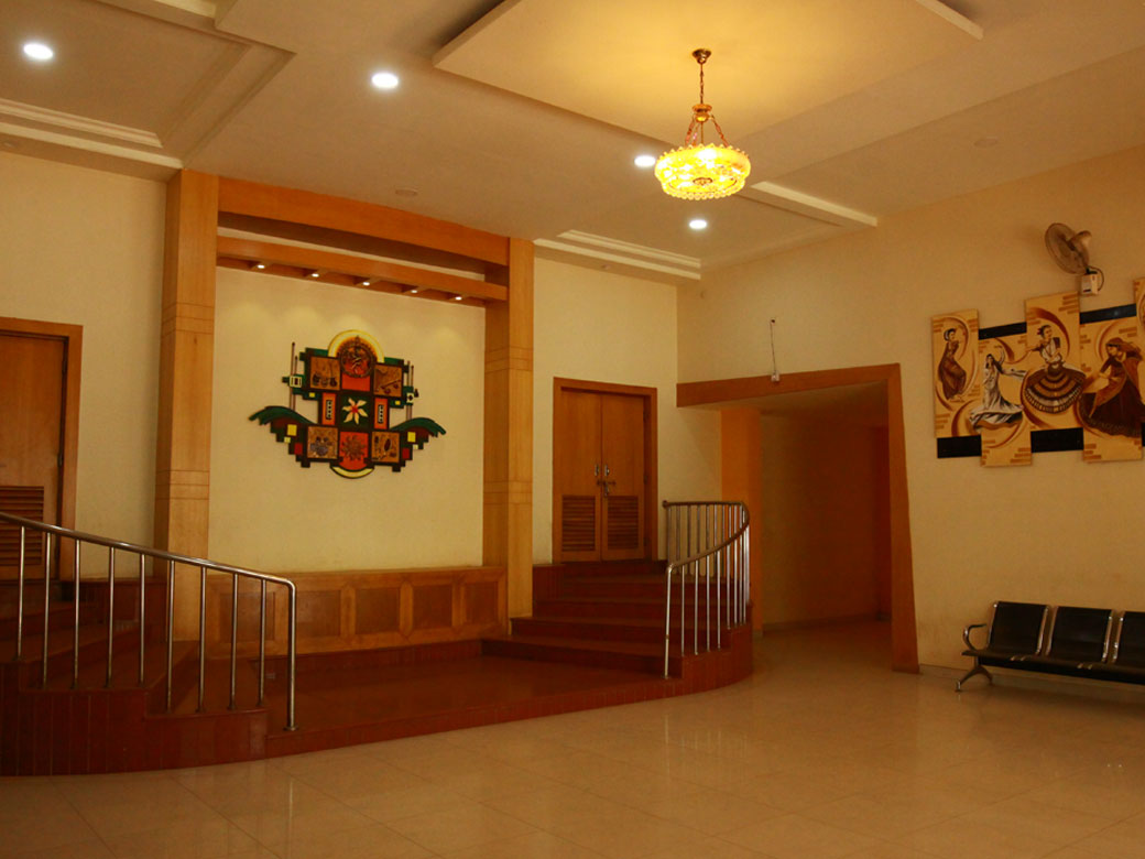 Dayanand Auditorium Entrance Lobby